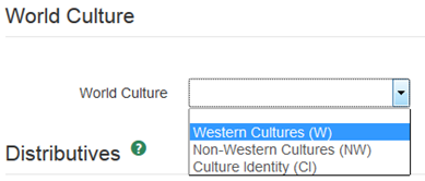 World Culture Selection