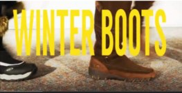 winter boots video