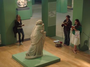 Art History Students at the Museo Montemartini