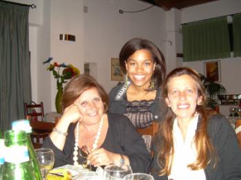 Photo of Daniela Vasquez '09, Veteran of Spring LSA+ 2007, AT for the Italian LSA Spring 2008