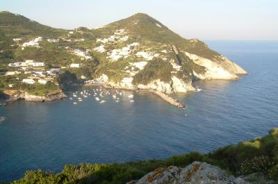 View of Le Isole Pontine