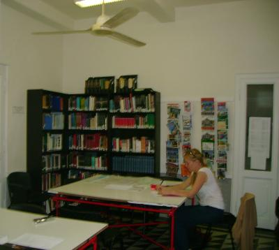 Rome Center Library