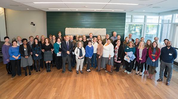 the 2017 United Way volunteer coordinators