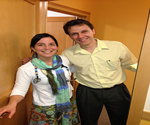 Picture of Dr. Duncan and Dr. Lazar
