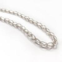 The Donald Claflin Jewelry Studio: Loop-in-Loop Fused Silver Chain